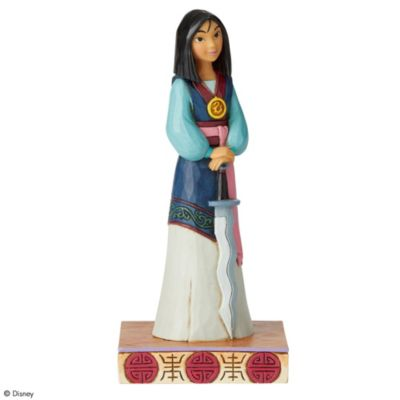 Enesco Mulan Winsome Warrior Disney Traditions Figurine