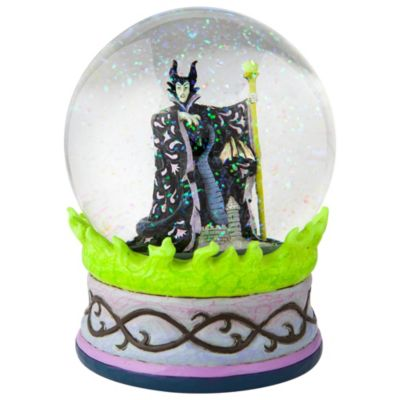 Enesco Maleficent Disney Traditions Snow Globe