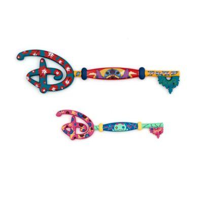 Set llaves Stitch, Disney Store