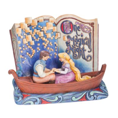 Enesco Tangled Storybook One Magical Night Disney Traditions Figurine