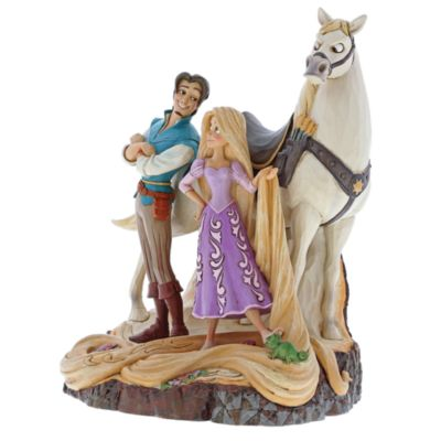Enesco Tangled Live Your Dream Disney Traditions Figurine