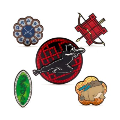 Set pins Shang-Chi y la leyenda de los Diez Anillos, edición limitada, Disney Store