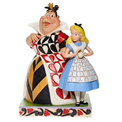 Enesco Alice and the Queen of Hearts Disney Traditions Figurine