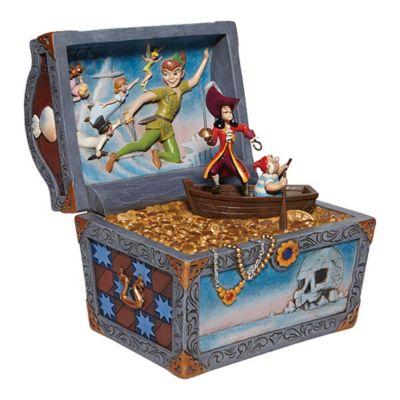 Enesco Peter Pan Flying Scene Disney Traditions Figurine