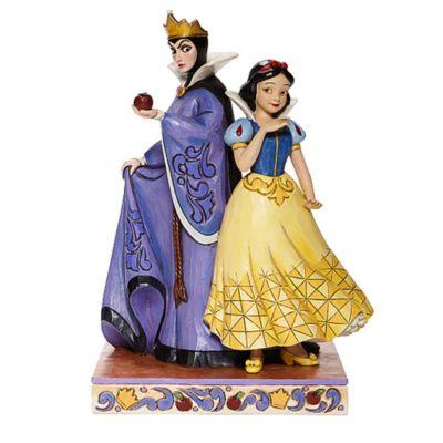 Statuetta Biancaneve e la Regina Cattiva collezione Disney Traditions Enesco