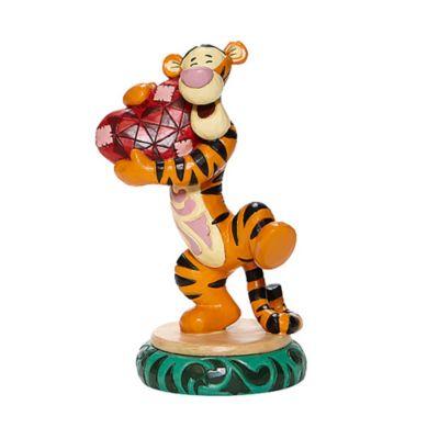Enesco figurita Tigger sujetando un corazón, Disney Traditions