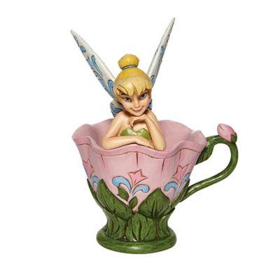 Enesco Figurine Clochette assise dans une fleur, Disney Traditions