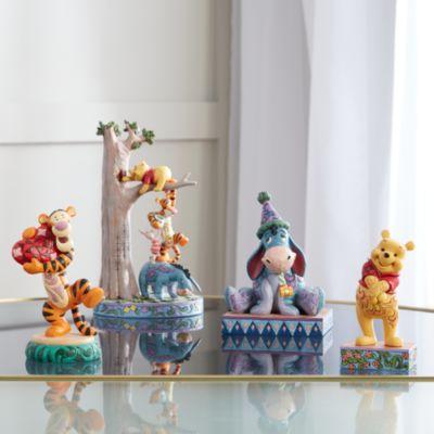 Enesco Winnie the Pooh and Friends Play by Hunny Tree Figurine