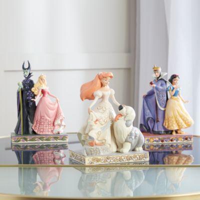 Enesco Figurine Ariel White Woodland, Disney Traditions