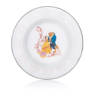English Ladies Co. Beauty and the Beast Fine Bone China Collector Plate