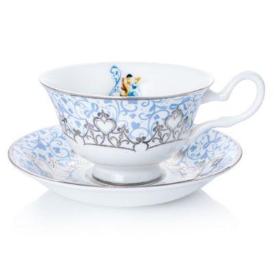 English Ladies Co. Cinderella Fine Bone China Teacup and Saucer