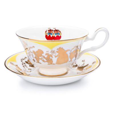 English Ladies Co. Tweedledee and Tweedledum Fine Bone China Teacup and Saucer