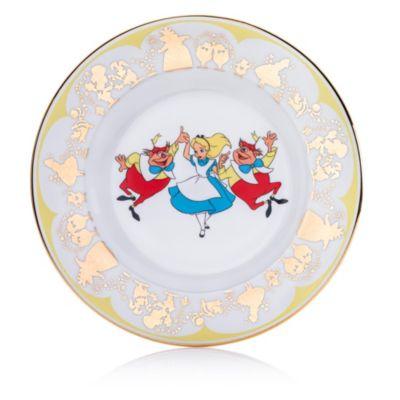 English Ladies Co. Alice, Tweedledee and Tweedledum Fine Bone China Collector Plate