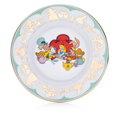 English Ladies Co. Mad Hatter and March Hare Fine Bone China Collector Plate