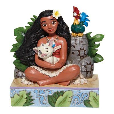 Enesco Moana, Pua and Hei Hei (Welcome to Motunui) Disney Traditions Figurine