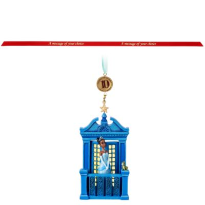 Ornament a sospensione La Principessa e il Ranocchio Disney Store