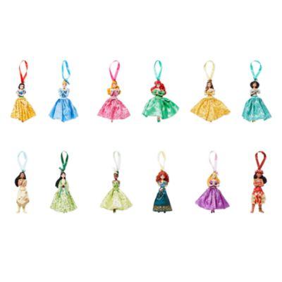 Adornos colgantes princesas Disney, Disney Store (12u.)
