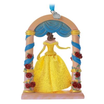 Disney Store Belle Hanging Ornament, Beauty and the Beast