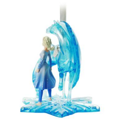 Disney Store Elsa and Nokk Hanging Ornament, Frozen 2