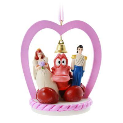 Disney Store The Little Mermaid Hanging Ornament