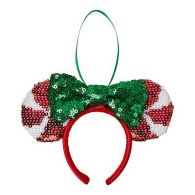 Decorazione da appendere Cerchietto natalizio con orecchie di Minni Disney Store