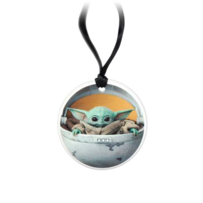 Disney Store Grogu Disc Hanging Ornament, Star Wars
