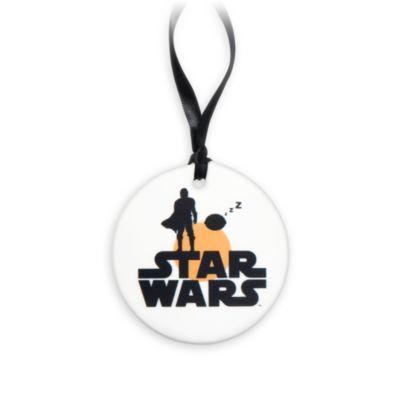 Decorazione da appendere Grogu disco Star Wars Disney Store