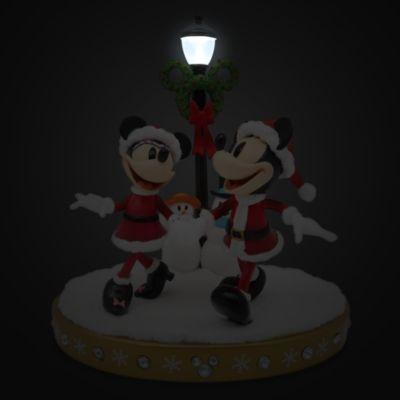 Disney Store Mickey and Minnie Light-Up Figurine