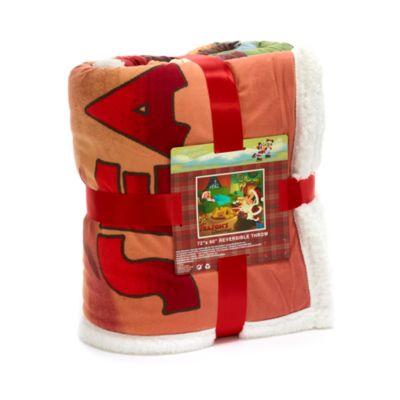 Coperta reversibile natalizia Topolino, Minni e Pluto Disney Store
