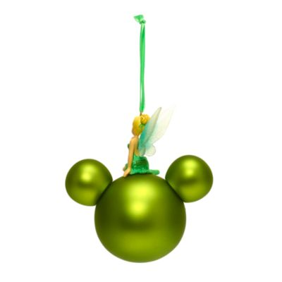 Disney Store Tinker Bell Mickey Icon Hanging Ornament