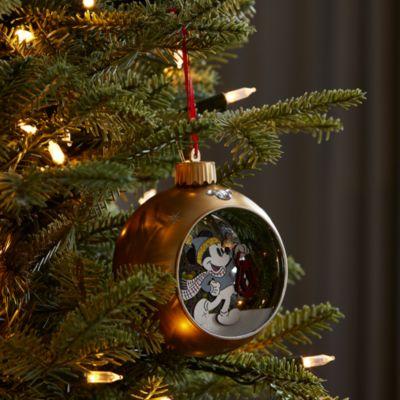 Walt Disney World Decorazione natalizia luminosa da appendere Topolino