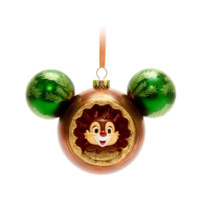 Walt Disney World Chip 'n' Dale Mickey Icon Hanging Ornament