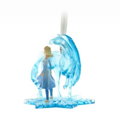 Decorazione da appendere Elsa e Nokk Frozen 2: Il Segreto di Arendelle Disney Store
