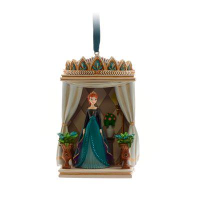 Disney Store - Die Eiskönigin2 - Anna - Dekorationsstück zum Aufhängen
