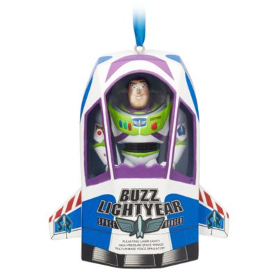 Disney Store Décoration parlante Buzz l'Éclair à suspendre