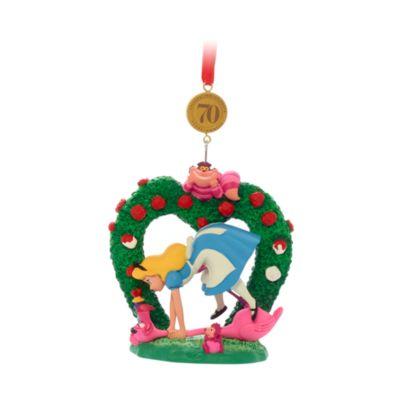 Disney Store Alice in Wonderland Legacy Hanging Ornament