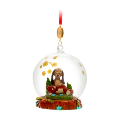 Disney Store The Fox and the Hound Legacy Hanging Ornament