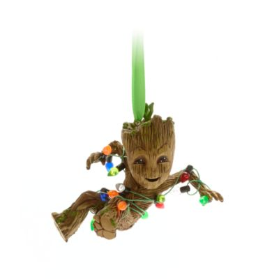 Disney Store Groot Festive Hanging Ornament, Guardians of the Galaxy