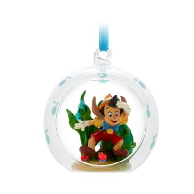 Disney Store Décoration Pinocchio sous l'eau à suspendre