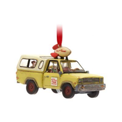 Disney Store - Pizza Planet Truck - Dekorationsstück zum Aufhängen