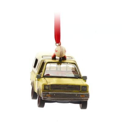 Disney Store Pizza Planet Truck Light-Up Hanging Ornament