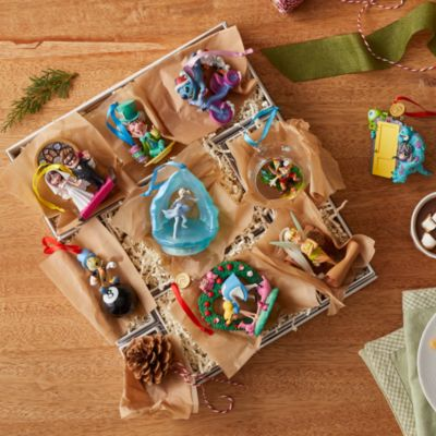 Disney Store Stitch Festive Hanging Ornament