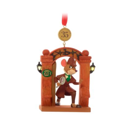 Disney Store The Great Mouse Detective Legacy Hanging Ornament