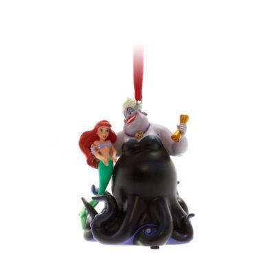 Disney Store - Arielle und Ursula - Singendes Dekorationsstück zum Aufhängen