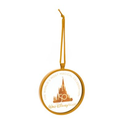 Walt Disney World Mickey Mouse 50th Anniversary Hanging Ornament