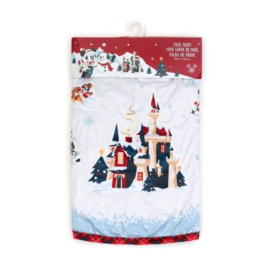 Disney Store Cache-pied de sapin Mickey Mouse et ses Amis, Walt's Holiday Lodge