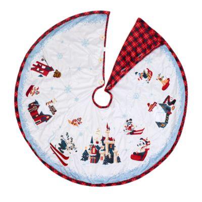 Disney Store - Walt's Holiday Lodge - Micky und Freunde - Weihnachtsbaumdecke