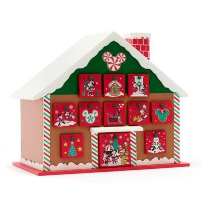 Calendario adviento clásico Mickey y sus amigos, Holiday Cheer, Disney Store