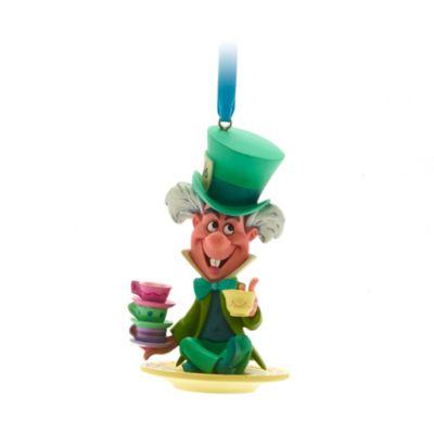 Disney Store Mad Hatter Hanging Ornament, Alice in Wonderland