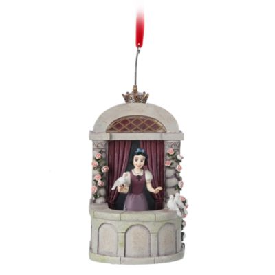 Disney Store Snow White Singing Hanging Ornament